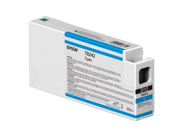 Epson Blekkpatron Ultrachrome HDX/HD cyan 350 ml T8242