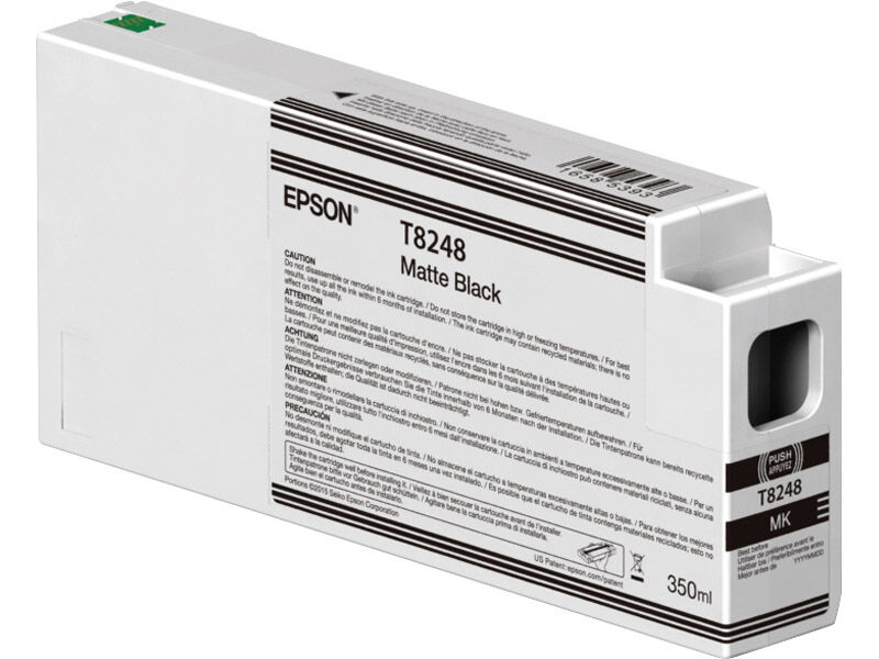Epson Blekkpatron Ultrachrome HDX/HD matt svart 350 ml
