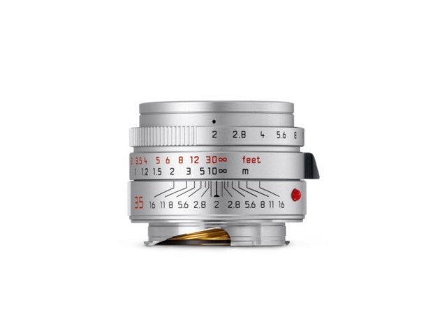 Leica Summicron-M 35mm f/2 ASPH New sølv