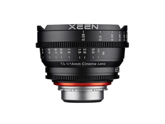 Samyang Xeen 14mm T3.1 Cinema til Nikon
