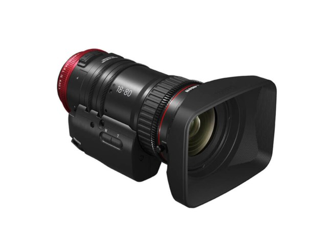 Canon CN-E18-80mm T4,4L IS KAS S, EF-mount