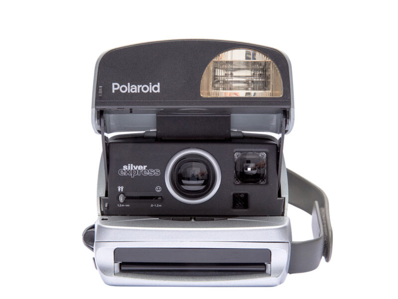 "Impossible Refurbished Polaroid 600 90's style ""Round"""