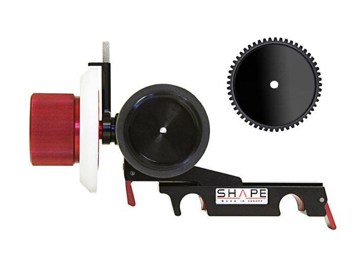 Shape Follow focus friction and gear clic