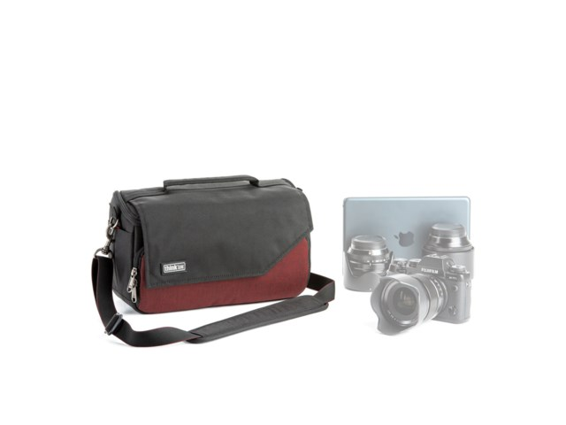 Think Tank Kameraveske Mirrorless Mover 25i deep red