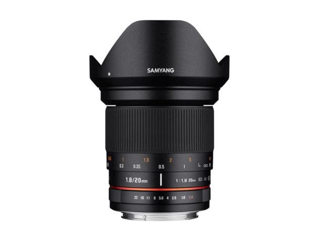 Samyang 20mm f/1,8 ED AS UMC til Sony A
