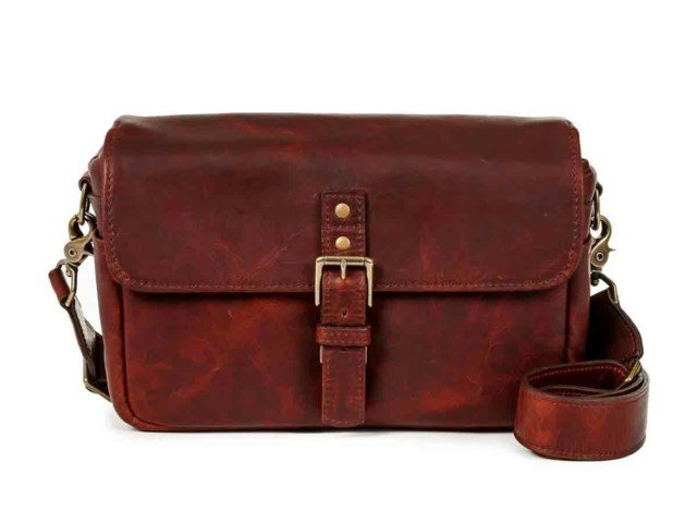 ONA Kameraveske Bowery Bordeaux Leather