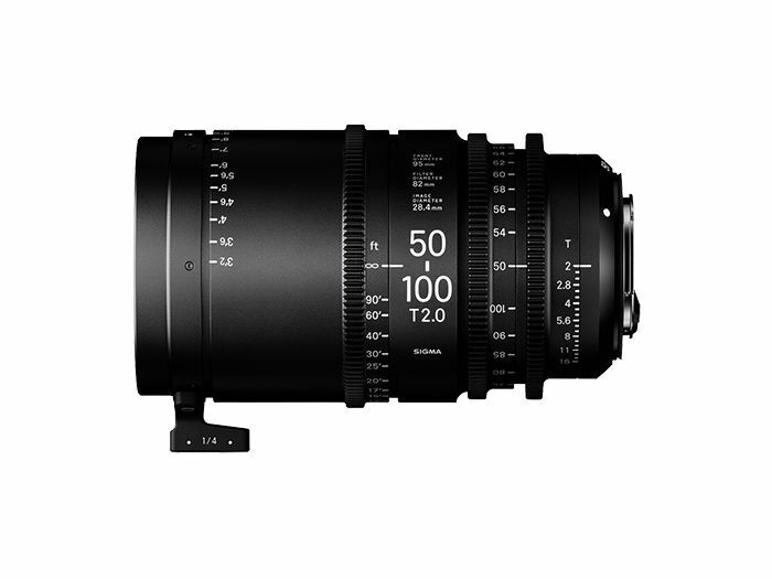 Sigma CINE 50-100mm T2 EF-mount