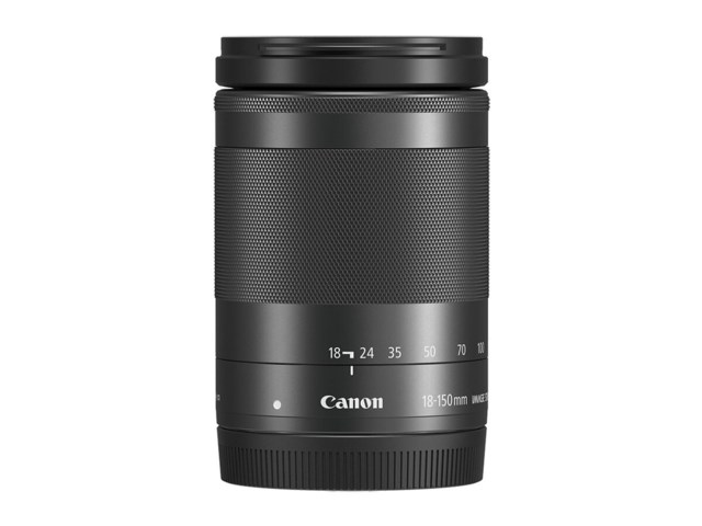 Canon EF-M 18-150mm f/3,5-6,3 IS STM svart