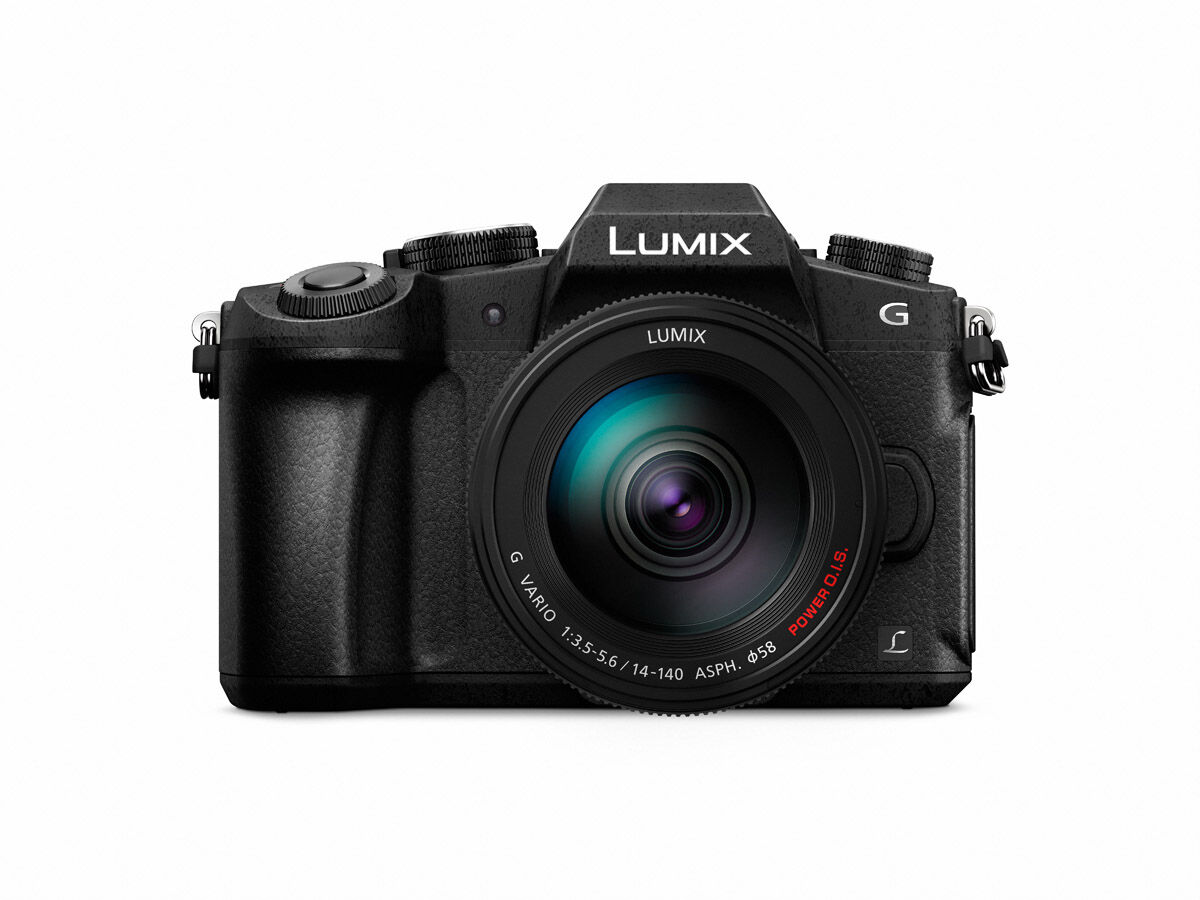 Panasonic Lumix DMC-G80 +  Lumix G Vario 14-140mm f/3,5-5,6