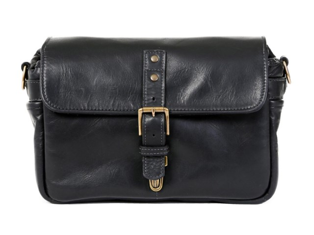 ONA Kameraveske Bowery Black Leather