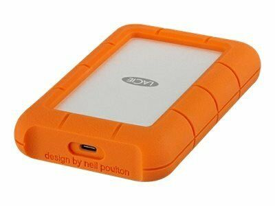 LaCie Rugged 1TB USB-C 3.0 orange