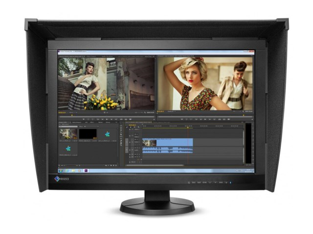 "Eizo Bildeskjerm 24,1"" ColorEdge CG247X svart"