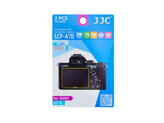 JJC LCD-beskyttelse LCP-A7II till Sony A7SII/