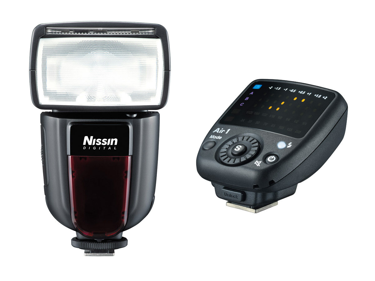 Nissin Blits Di700A + Commander Air 1 til Oly/Pan