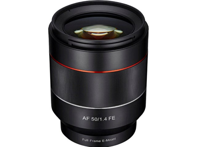 Samyang AF 50mm f/1,4 AS IF UMC til Sony FE