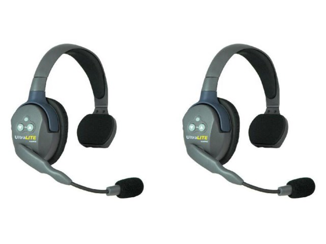 Eartec Headset UltraLITE single ear (2 stk headset)