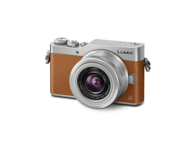 Panasonic Lumix DMC-GX800 brun + G Vario 12-32mm f/3,5-5,6