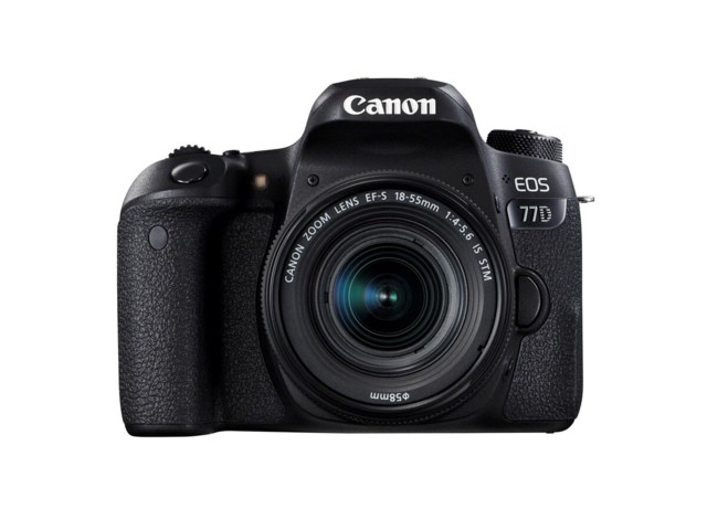 Canon EOS 77D + EF-S 18-55mm f/4-5,6 IS STM
