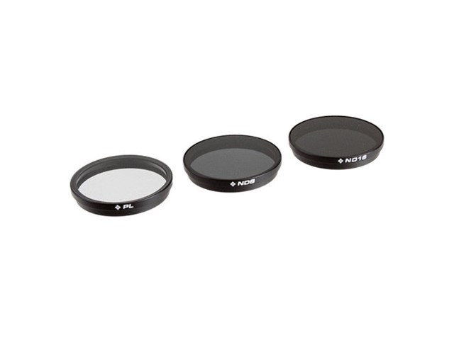 Polar Pro Filter 3-pack PL/ND8/ND16 til DJI Inspire 1/