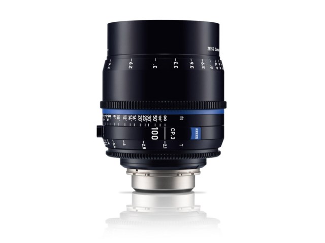 Zeiss Compact Prime CP.3 100mm T2.1 Micro 4/3-mount