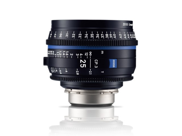 Zeiss Compact Prime CP.3 25mm T2.1 Micro 4/3-mount