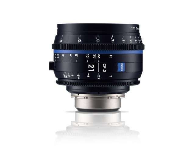 Zeiss Compact Prime CP.3 21mm T2.9 Canon EF-mounts