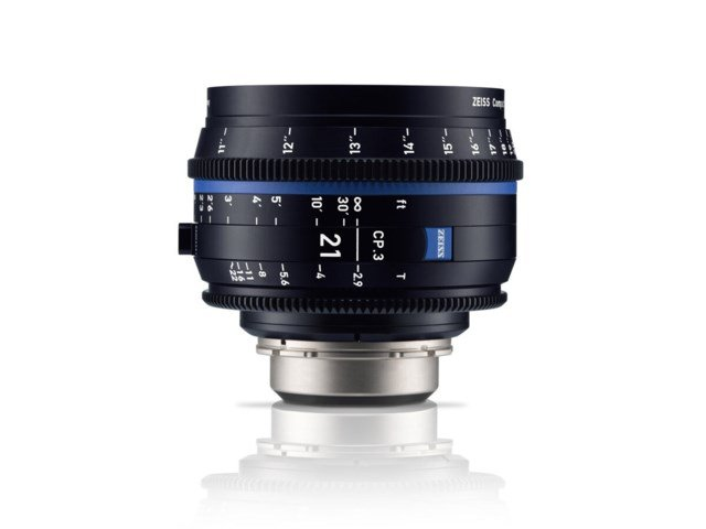 Zeiss Compact Prime CP.3 21mm T2.9 Micro 4/3-mount