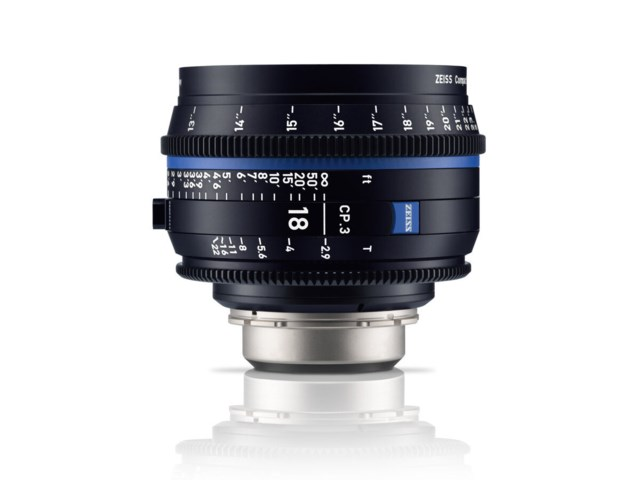 Zeiss Compact Prime CP.3 18mm T2.9 Micro 4/3-mount
