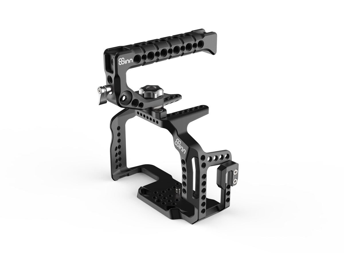 8Sinn Cage 5DM4 + Top Handle Scorpio med ARRI-rosette