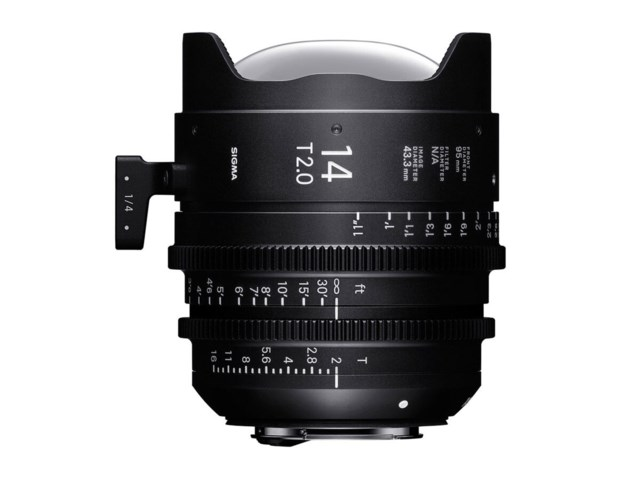 Sigma CINE 14mm T2 FF Sony E-mount