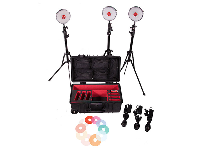 Rotolight NEO II, 3 Light kit
