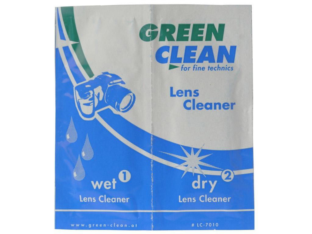 Green Clean Linserengjøring Wet & Dry multipack 50 stk