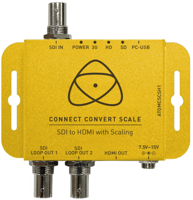 Atomos Connect Convert Scale - SDI til HDMI