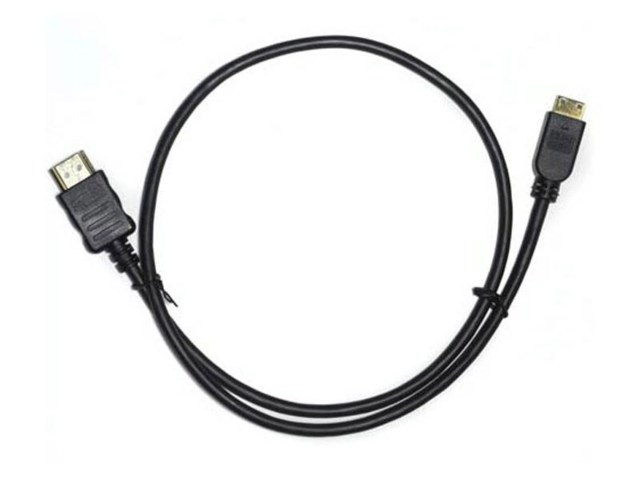 Small HD HDMI-kabel A han – mini C han 60 cm ekstra tynn
