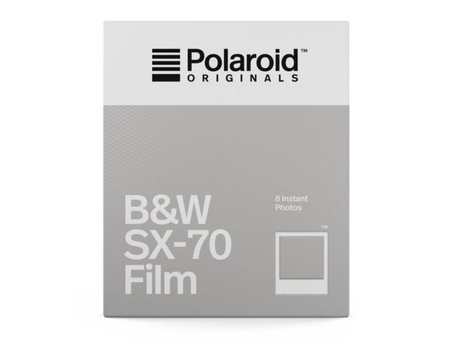 Polaroid Originals Film B&W SX-70 (svart-hvitt)