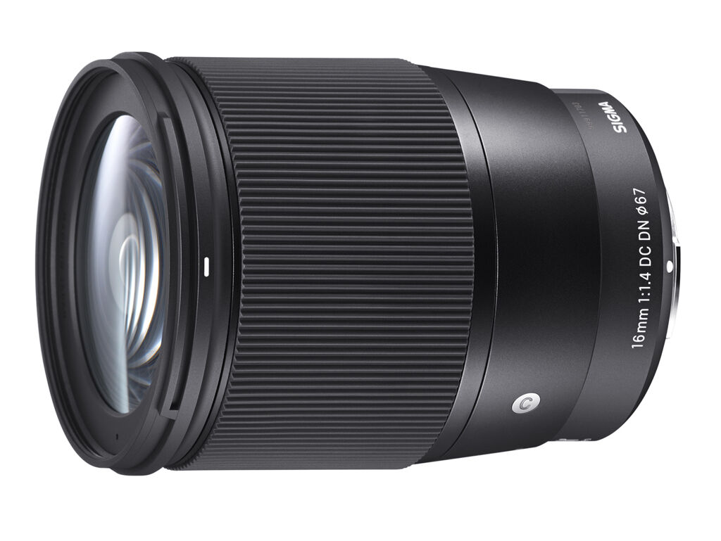 Sigma 16mm f/1,4 DC DN Contemporary til Sony E