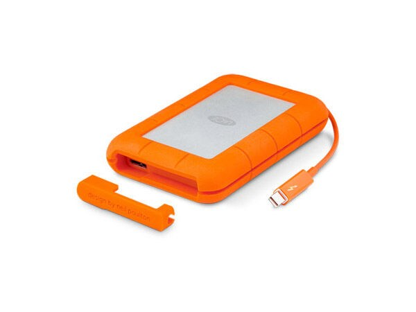 LaCie Rugged SSD Thunderbolt/USB-C 3.1 500GB