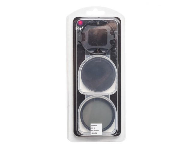 B+W Filter Outdoor set 58 for GoPro 5/6