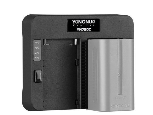 Yongnuo Batterilader YN750C Speed Charger for Sony
