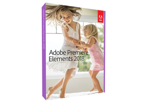 Adobe Premiere Elements 2018 Engelsk for Windows/Mac