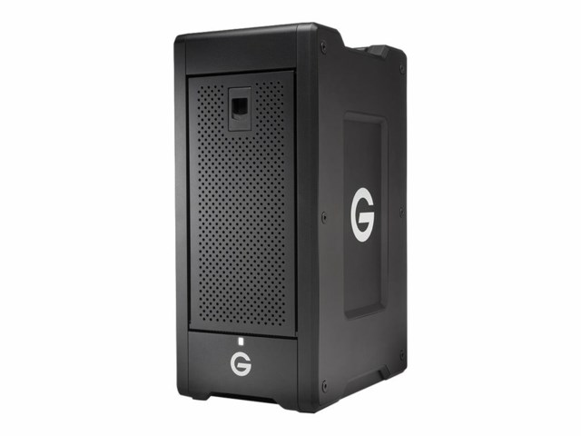 G-Technology G-SPEED Shuttle XL Thunderbolt 3 32TB svart
