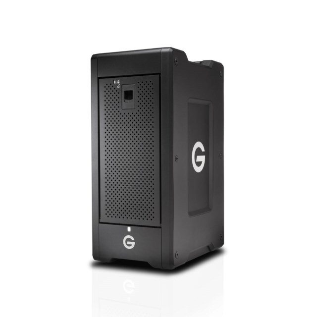 G-Technology G-SPEED Shuttle XL Thunderbolt 3 96TB svart