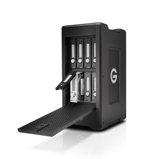 G-Technology G-SPEED Shuttle XL Thunderbolt 3 48TB svart