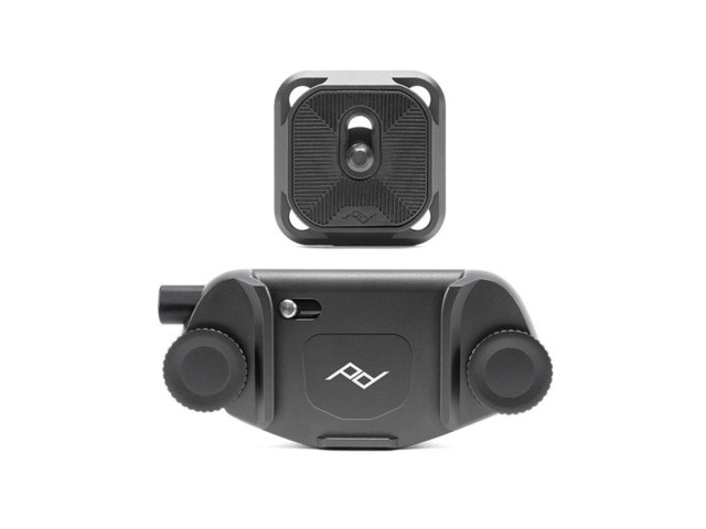 Peak Design Capture Camera Clip v3 svart med plate