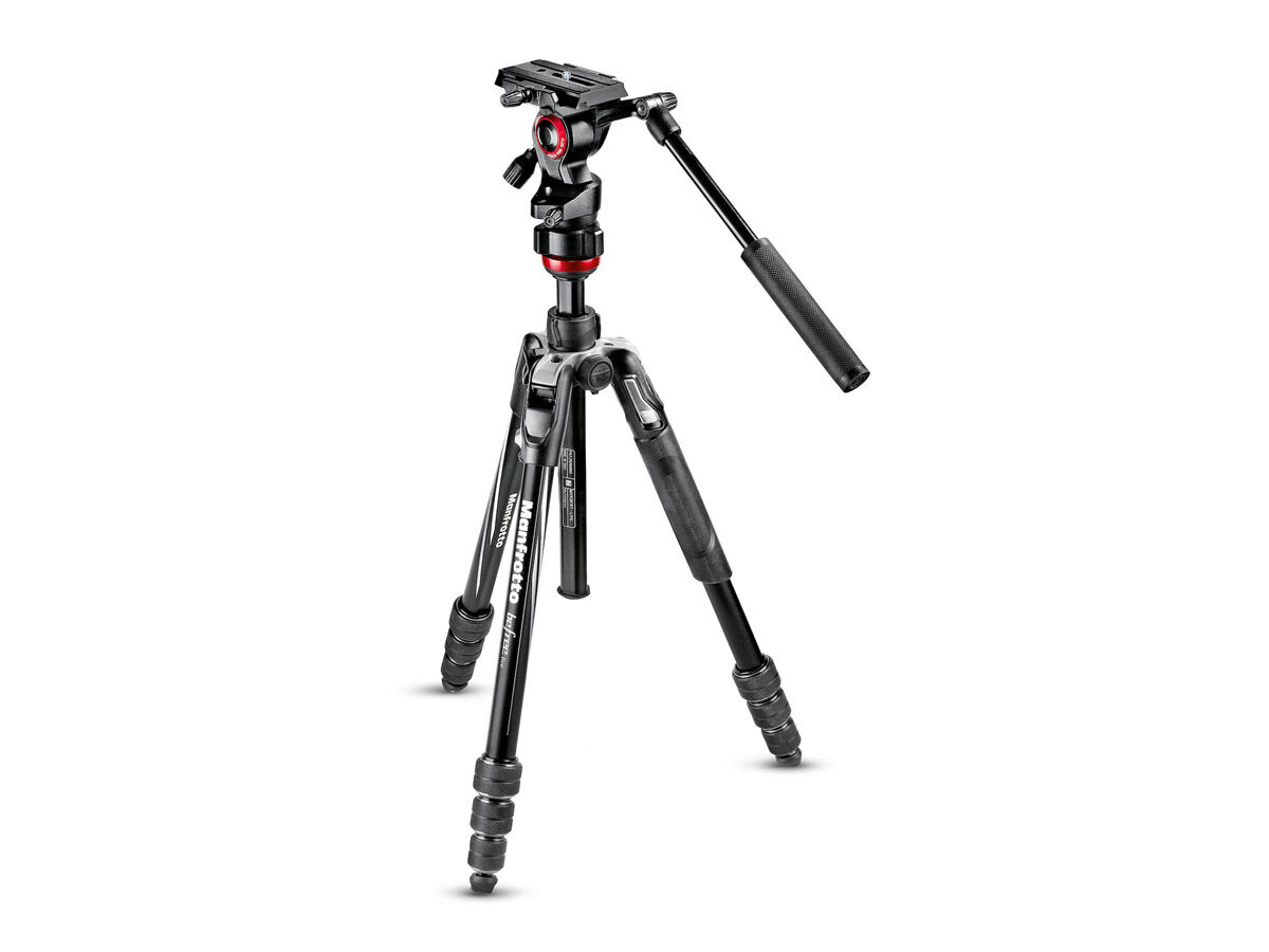 Manfrotto Stativkit Befree Advanced Live Twist svart aluminium