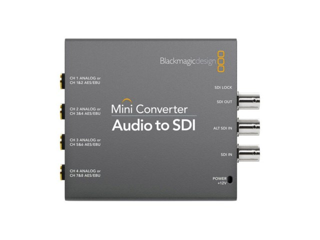 Blackmagic Design Mini converter - Audio til SDI 2