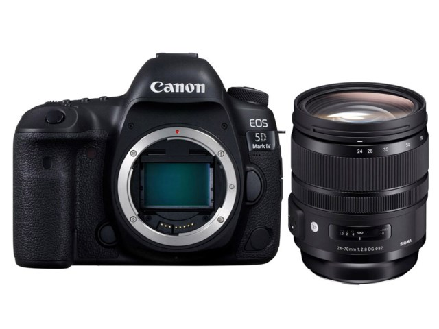 Canon EOS 5D Mark IV + Sigma 24-70mm f/2,8 DG OS HSM Art