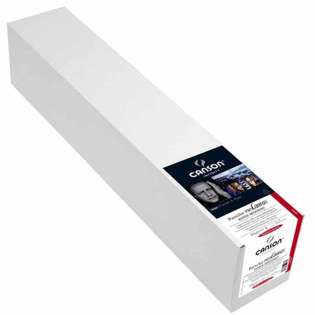 "Canson Photoart ProCanvas WR Lustre 100% Cotton  36"" x 12,2m"