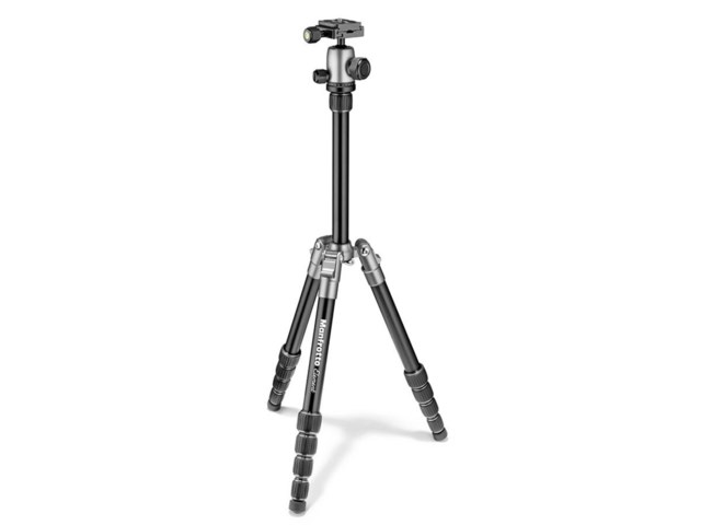 Manfrotto Stativkit Element Liten aluminium grå