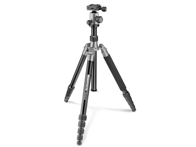 Manfrotto Stativkit Element Stor aluminium grå
